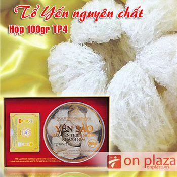 Tổ yến trắng sơ chế Khánh Hòa 100g TP4