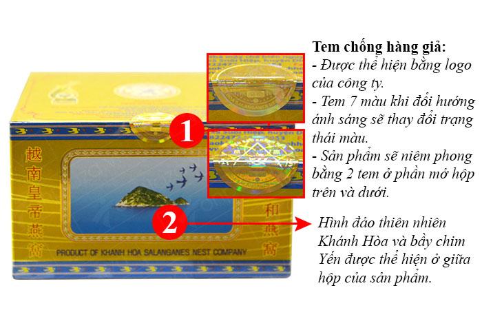 Tổ yến trắng tinh chế 3g (H011) Khánh Hòa Y016 2