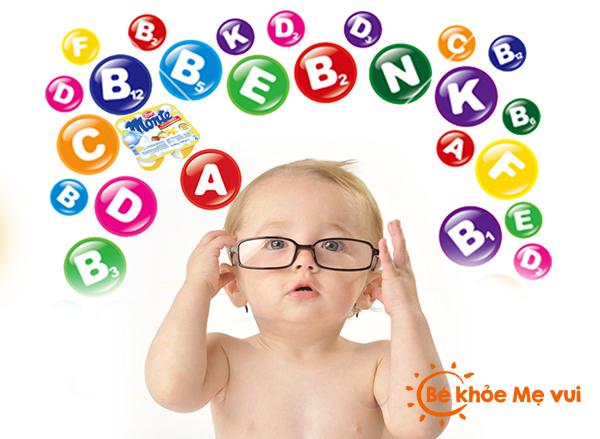 Các dưỡng chất rất cần thiết cho bé