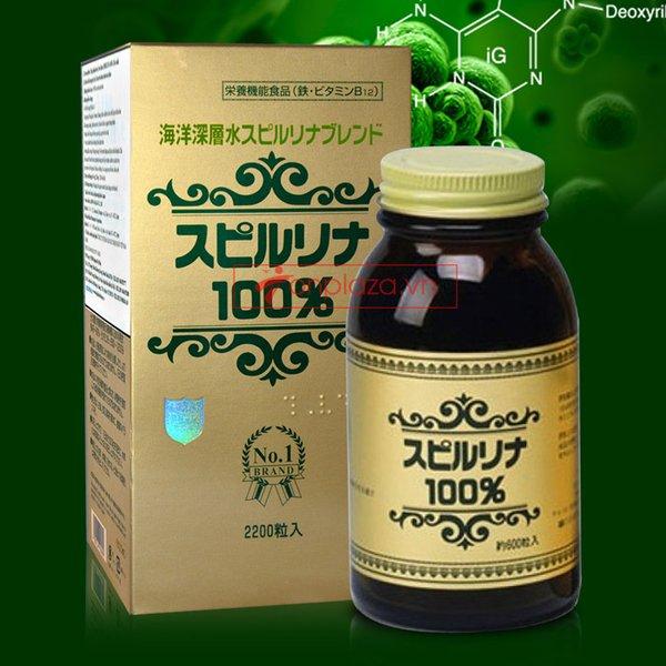 Tảo xoắn Spirulina Nhật Bản kích thích tiêu hóa