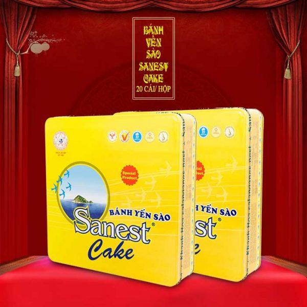 Bánh cao cấp yến sào sanest cake