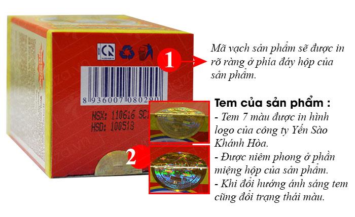 Mã vạch và hạn sử dụng của sản phẩm