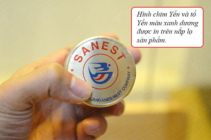 Nước yến sào Sanest Khánh Hòa không đường hộp 6 lọ
