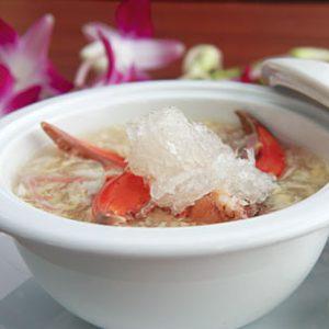 soup yến cua