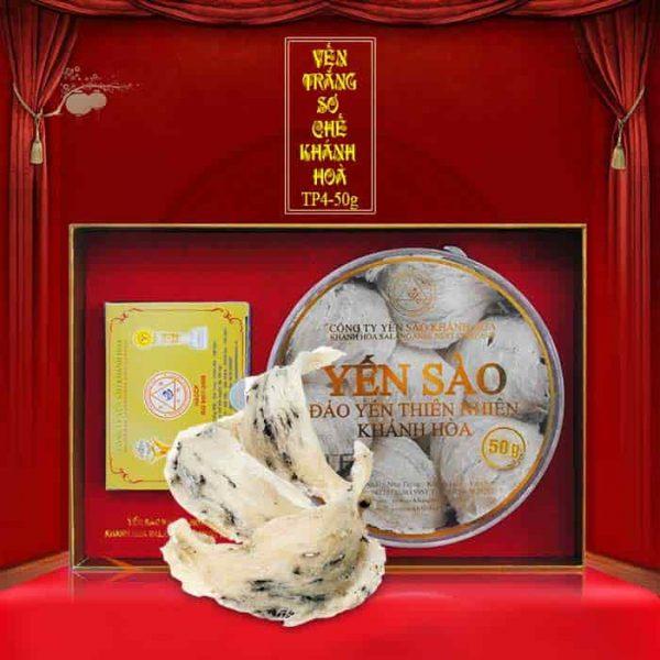 Tổ yến trắng sơ chế hộp 50g TP4 (054) Y009