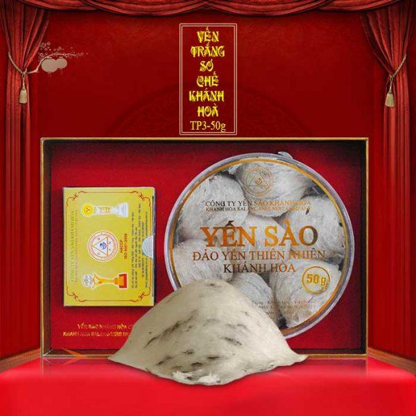 Tổ yến trắng sơ chế Khánh Hòa 50g TP3 (053) Y010