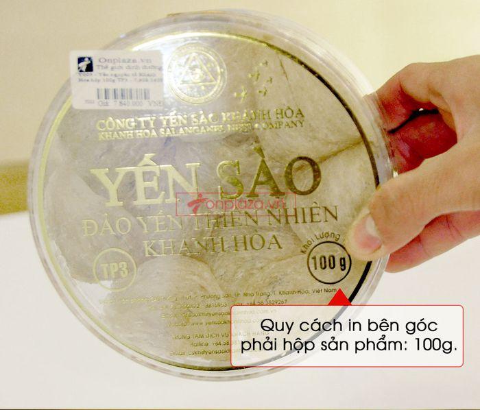 Tổ yến trắng sơ chế Khánh Hòa hộp 100g (TP3) Y003 11
