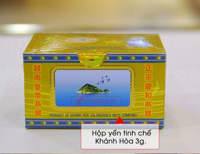 Tổ yến trắng sơ chế Khánh Hòa hộp 100g (TP3) Y003 12