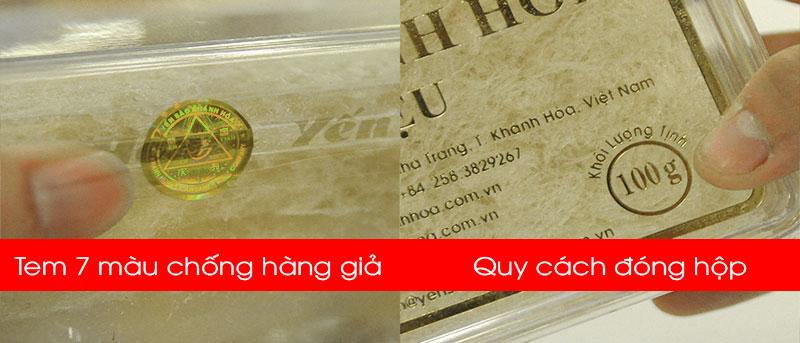 Yến sào tinh chế Khánh Hòa hộp quà tặng 100g (H014G) Y017 9
