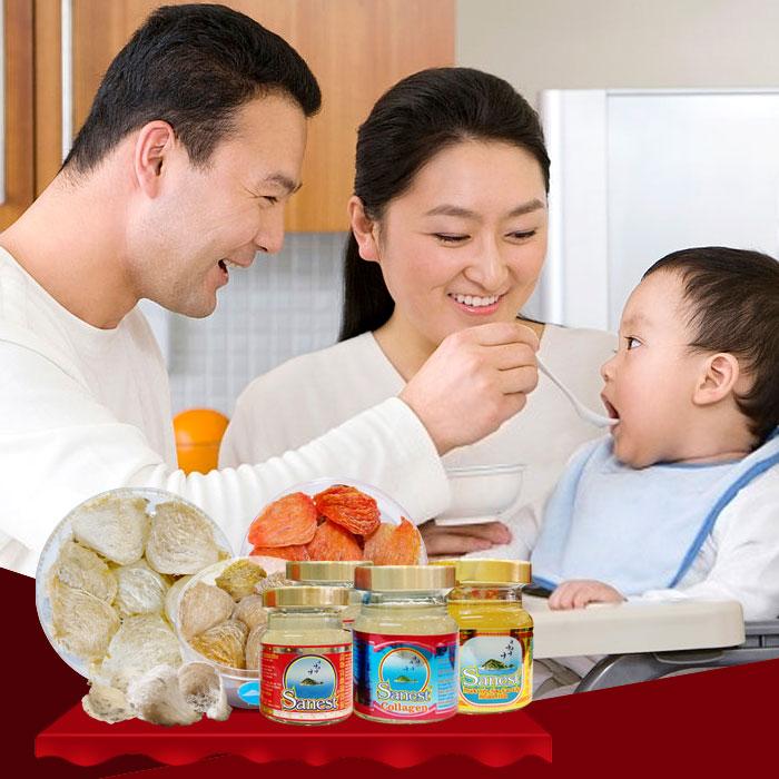Yến sào là bí quyết chăm con khỏe của các bậc cha mẹ