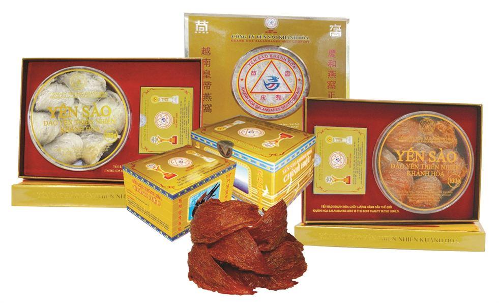 Yen sao dao thien nhien Khanh Hoa