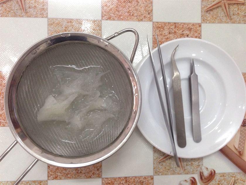 Phương pháp làm sạch tổ yến sào thô nhanh chóng và đảm bảo 3
