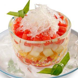 Món ăn trái cây tổ yến thanh mát, tốt cho sức khỏe cả nhà