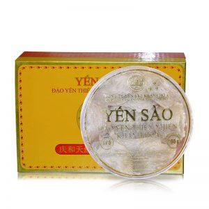 Hộp quà biếu Tổ yến trắng sơ chế Khánh Hòa 100g (TP5) Y005
