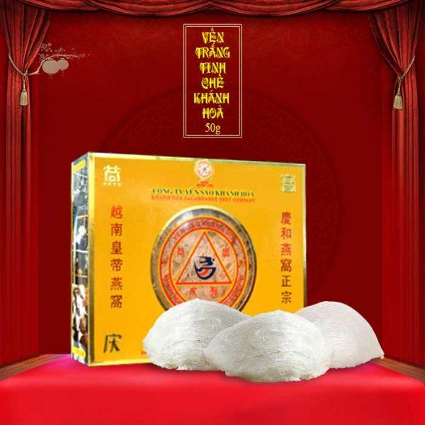 Tổ yến trắng tinh chế Khánh Hòa 50g (HO15) Y013