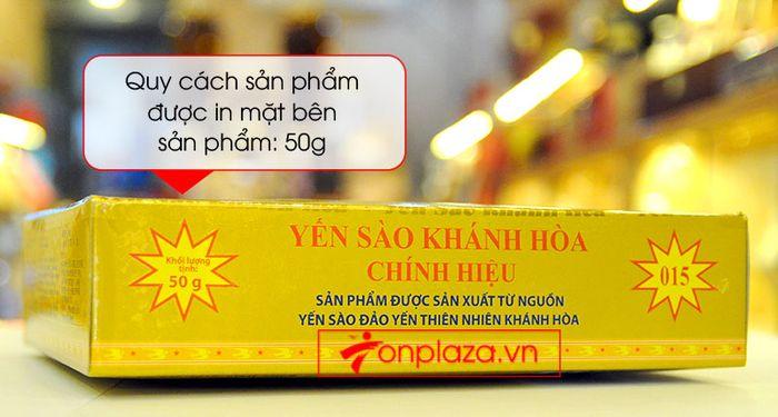 Tổ yến trắng tinh chế Khánh Hòa 50g (HO15) Y013 6