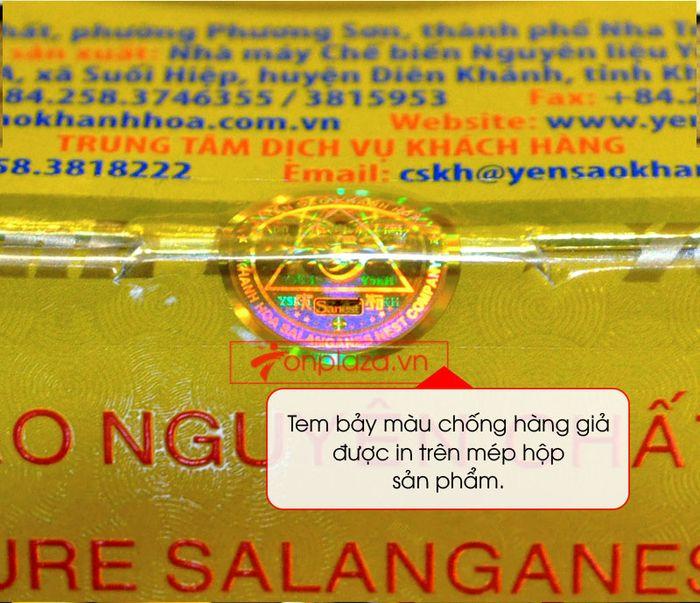 Tổ yến trắng tinh chế Khánh Hòa 50g (HO15) Y013 8