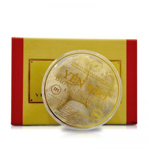 Hộp quà biếu Tổ yến trắng sơ chế Khánh Hòa 100g (TP1) Y001