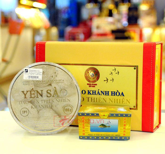 Tổ yến trắng sơ chế Khánh Hòa 100g (TP1) Y001 1