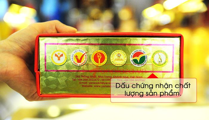 Tổ yến trắng sơ chế Khánh Hòa 100g (TP1) Y001 6