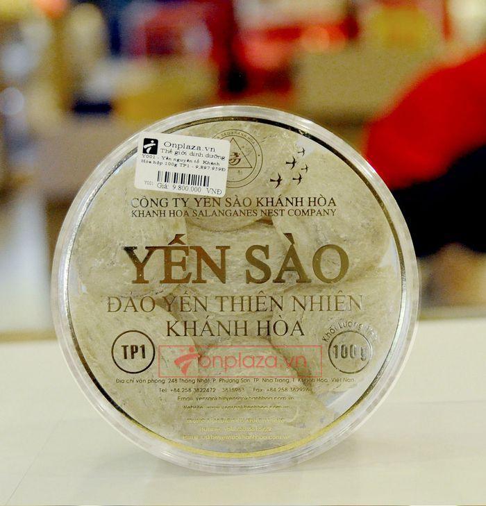 Tổ yến trắng sơ chế Khánh Hòa 100g (TP1) Y001 8