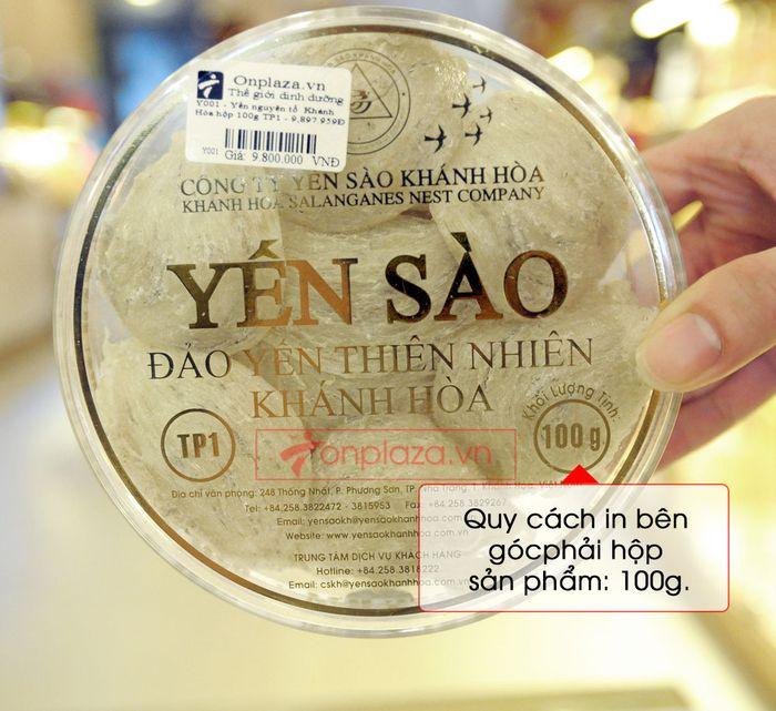 Tổ yến trắng sơ chế Khánh Hòa 100g (TP1) Y001 9