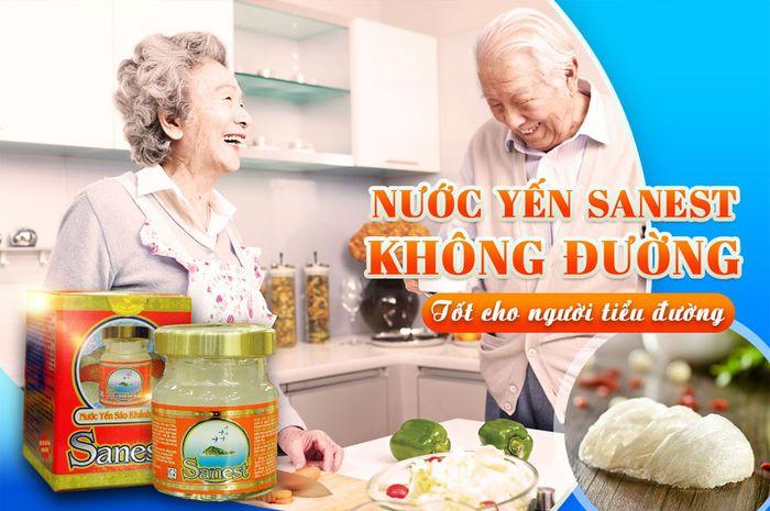 Thùng nước yến Sanest Khánh Hòa không đường 16