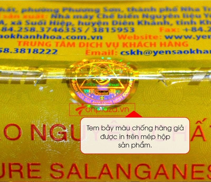Tổ yến trắng tinh chế Khánh Hòa 100g H014 Y014 9