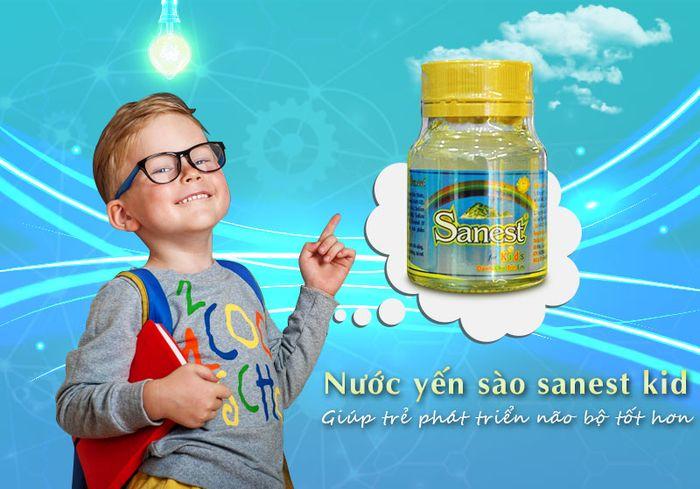 Thùng nước yến sào trẻ em Sanest Kid 12