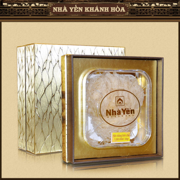 Yến trắng tinh chế loại hộp 30g Y096