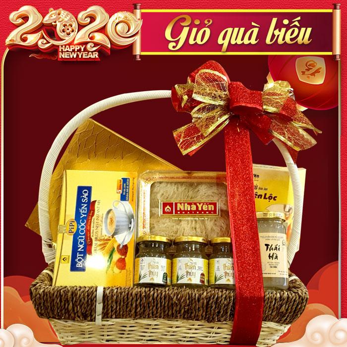 Giỏ quà biếu sức khỏe yến Khánh Hòa – món quà chân tình