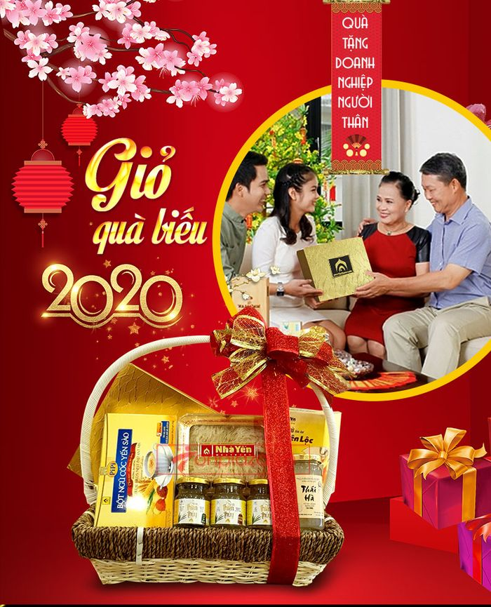 Giỏ quà biếu sức khỏe yến Khánh Hòa – món quà chân tình 1
